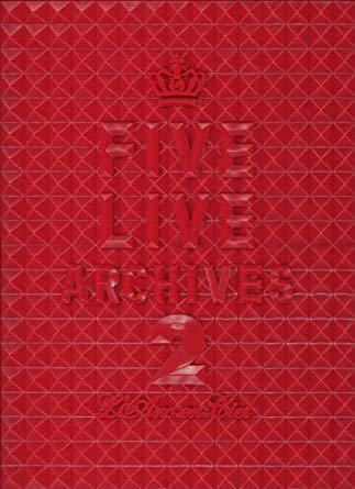 FIVE LIVE ARCHIVES 2 [DVD] 新品 マルチレンズクリーナー付き