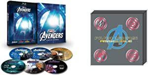 【Amazon.co.jp限定】アベンジャーズ:4ムービー・アッセンブル [ブルーレイ+DVD+デジタルコピー+MovieNEXワールド](オリジナルピンバッチセット付き) [Blu-ray] 新品 マルチレンズクリーナー付き