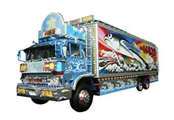 青島文化教材社 1/32 トラック野郎 No.02 一番星 熱風5000キロ 新品 プラモデル