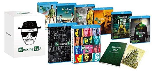 ブレイキング・バッド全巻セット(初回生産限定) [Blu-ray] ブライアン・クランストン 新品 マルチレンズクリーナー付き