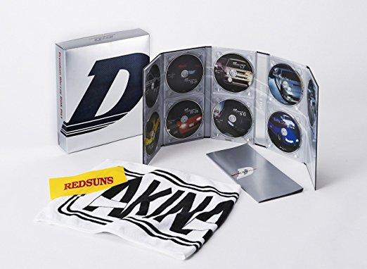 頭文字[イニシャル]D COMPLETE BD-BOX Vol.1 [Blu-ray] 三木眞一郎 新品 マルチレンズクリーナー付き