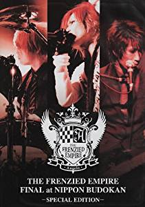 THE FRENZIED EMPIRE FINAL at NIPPON BUDOKAN-SPECIAL EDITION- [DVD] Angelo  新品 マルチレンズクリーナー付き