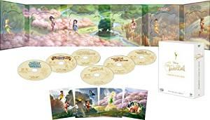 ティンカー・ベル コンプリート DVDボックス (期間限定) マルチレンズクリーナー付き 新品