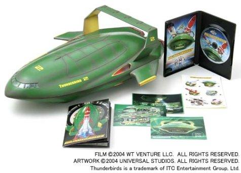 サンダーバード 2号型スペシャル·ボックス [DVD] ビル·パクストン マルチレンズクリーナー付き 新品