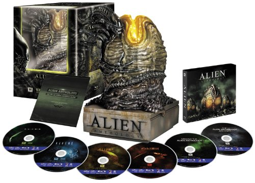 エイリアン・アンソロジー:ブルーレイ・コレクターズBOX(エイリアン・エッグ付) [Blu-ray] リドリー・スコット 新品 マルチレンズクリーナー付き