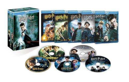 ハリー・ポッター 第1章~第5章 Blu-ray BOX (初回限定生産 ) エマ・ワトソン 新品 マルチレンズクリーナー付き