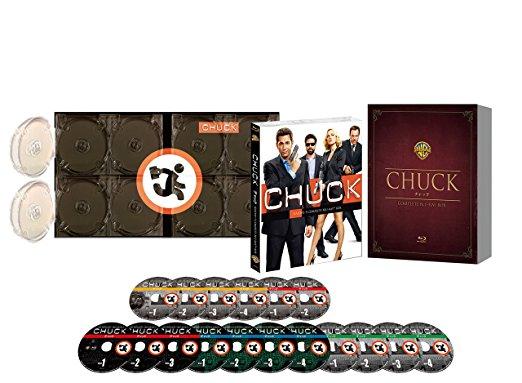 WBTV60周年記念 CHUCK/チャック コンプリート ブルーレイBOX(初回限定生産) [Blu-ray] ザッカリー・リーヴァイ 新品 マルチレンズクリーナー付き
