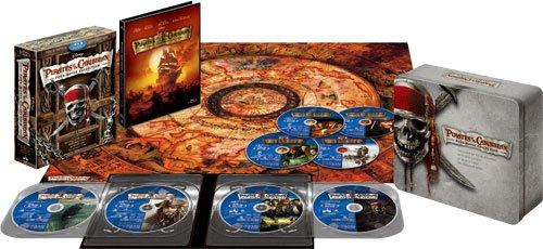 パイレーツ・オブ・カリビアン 公開10周年記念 ブルーレイBOX (数量限定) [Blu-ray] 新品 マルチレンズクリーナー付き