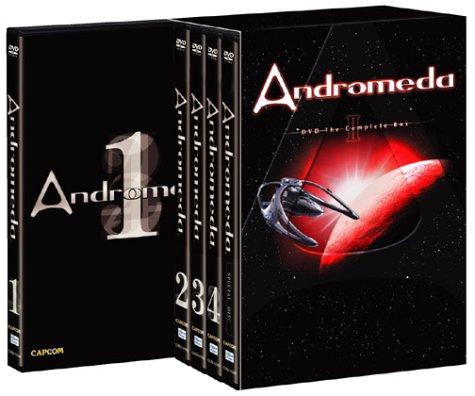 アンドロメダ シーズン1 DVD THE COMPLETE BOX 2  ケヴィン・ソルボ マルチレンズクリーナー付き 新品