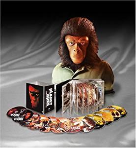 猿の惑星 コンプリート・コレクション (特製フィギュア付) [DVD] チャールトン・ヘストン マルチレンズクリーナー付き 新品