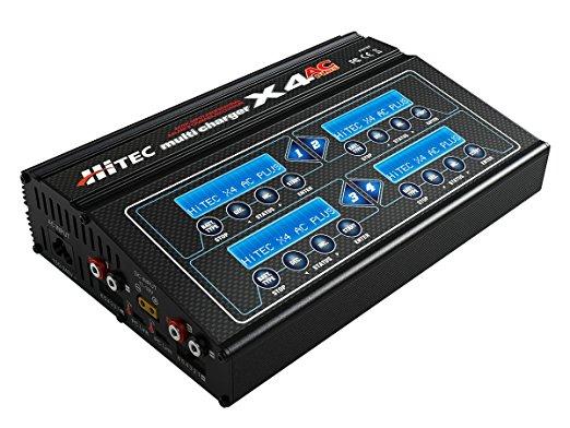 ハイテック Multi Charger X4 AC PLUS バランサー内臓多機能充/放電器 44167 新品