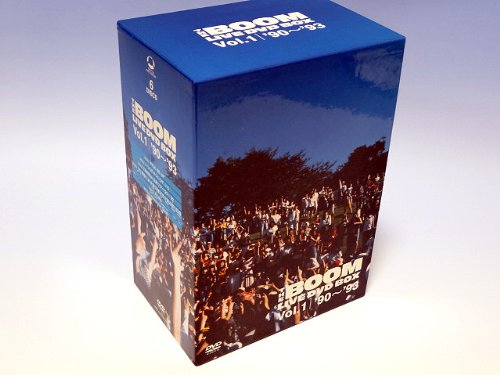 LIVE DVD BOX Vol.1 '90~'93 THE BOOM 新品 マルチレンズクリーナー付き