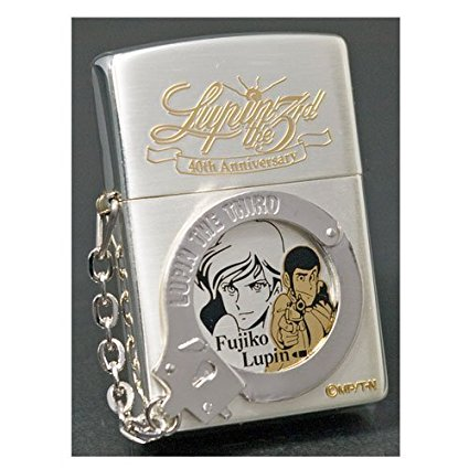 ZIPPO ルパン三世ジッポー 「Arrest Lupin The III No.3 ルパン&不二子」 バンプレスト 新品