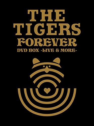 ザ・タイガース フォーエヴァー DVD BOX -ライヴモア-(初回プレス限定生産商品) 新品 マルチレンズクリーナー付き