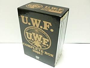 U.W.F COMPLETE BOX(1) stage.1 [DVD] (中古) マルチレンズクリーナー付き