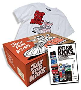 JUST FOR KICKS/ジャスト・フォー・キックス スペシャルBOX (完全限定生産) [DVD] 新品 マルチレンズクリーナー付き