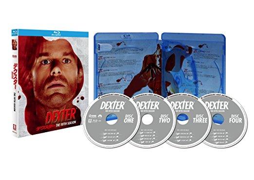デクスター シーズン5 Blu-ray BOX 新品 マルチレンズクリーナー付き