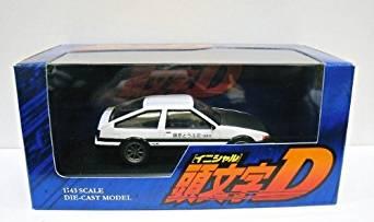 フジミ模型 1/43 頭文字D ミニカーシリーズ ISDミニ4 トレノ AE86 カーボンボンネット 藤原拓海 新品
