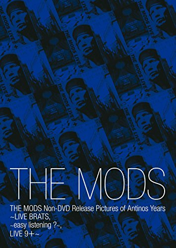 THE MODS Non-DVD Release Pictures of Antinos Years(完全生産限定盤) モッズ 新品 マルチレンズクリーナー付き