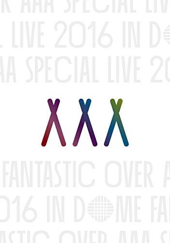 【早期購入特典あり】AAA Special Live 2016 in Dome -FANTASTIC OVER-(初回生産限定盤)(スマプラ対応)(ポストカード付) [DVD] 新品 マルチレンズクリーナー付き