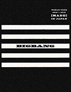 【早期購入特典あり】BIGBANG WORLD TOUR 2015~2016 [MADE] IN JAPAN(DVD(3枚組)+LIVE CD(2枚組)+PHOTO BOOK+スマプラ・ムービー&ミュージック])(-DELUXE EDITION-)(初回生産限定盤)(オリジナル・ICカードステッカー外付特典) 新品