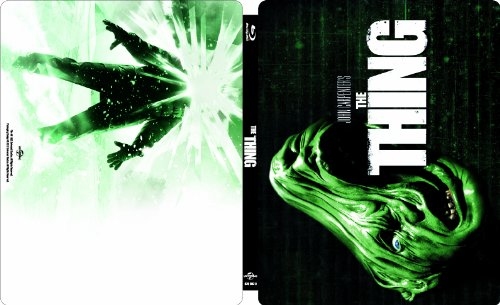 【Amazon.co.jp限定】遊星からの物体X スティールブック仕様(完全数量限定) [Blu-ray] 新品 マルチレンズクリーナー付き
