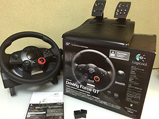 ロジクール ドライビングフォース GT(LPRC-14500) PlayStation 3 新品