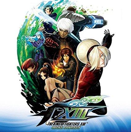ザ・キング・オブ・ファイターズXIII オリジナルサウンドトラック CD 新品 マルチレンズクリーナー付き