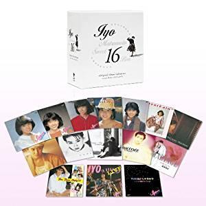 スウィート16 BOX(DVD付) 松本伊代 CD 新品 マルチレンズクリーナー付き