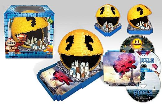 【Amazon.co.jp限定】 ピクセル / PIXEL パックマン シティスケープBOX (初回限定版)(パックマン・シティスケープ ディスクケース付フィギュア) [Blu-ray] 新品 マルチレンズクリーナー付き
