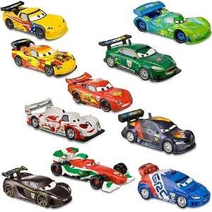 USディズニーストア限定 カーズ 2 Cars2 デラックス フィギュア プレイ 10種類セット Disney(ディズニー)