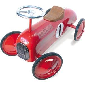 VILAC レーシングカー レッド