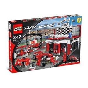 レゴ レーサー フェラーリ F1フィニシュライン 8672