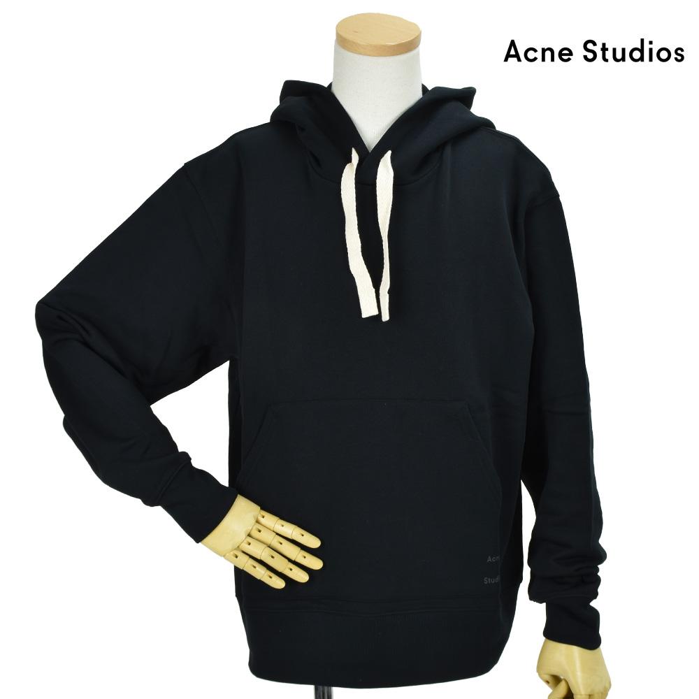 アクネストゥディオズ Acne Studios BI0020-BM9103 BLACK パーカー プルオーバー パーカー ブラック 黒 メンズ【送料無料】