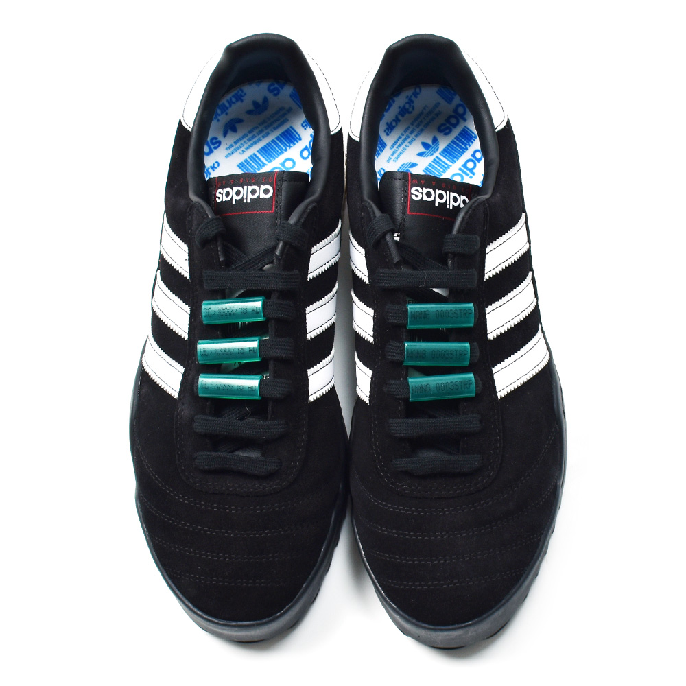 5901c339fa45 Adidas adidas Originals AQ1232 Alexander Wang AW Bball Soccer originals  Alexander one collaboration collection men gap Dis black white green BLACK  WHITE ...