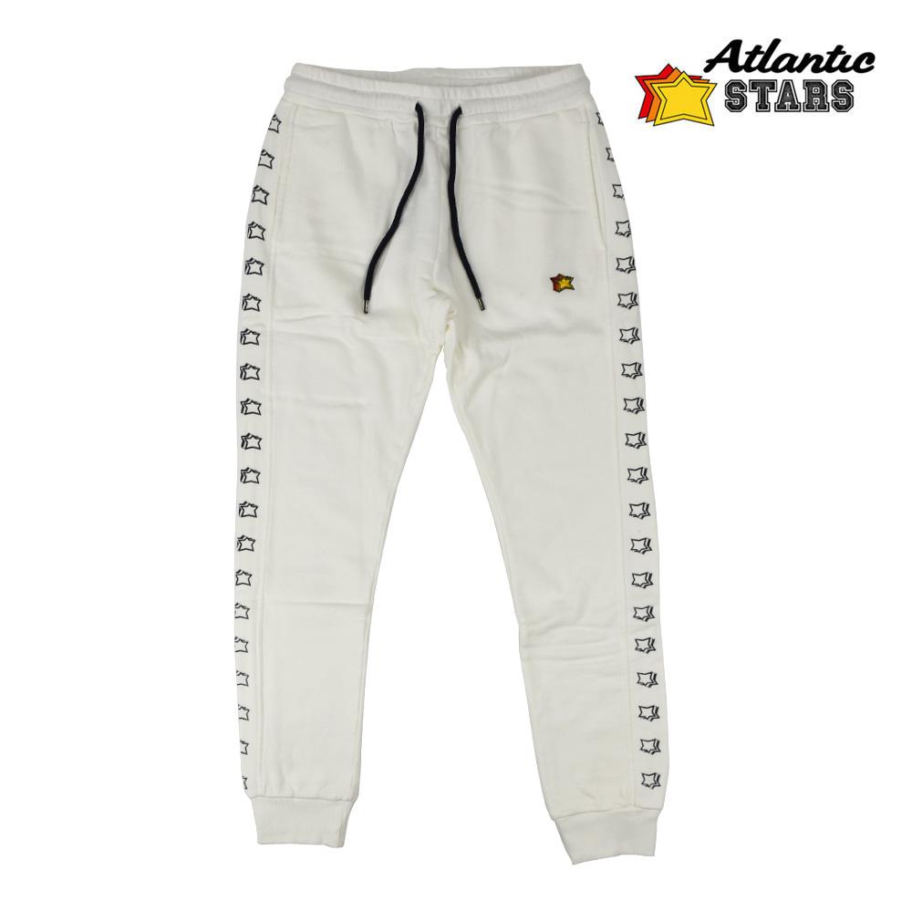 アトランティックスターズ Atlantic STARS AMF1828 PANT WHITE スウェット パンツ ホワイト 白 メンズ【送料無料】