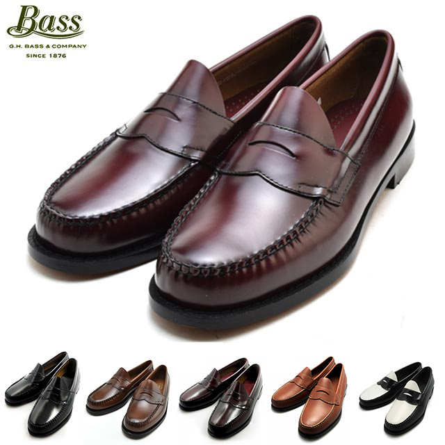 dcf37765f5 H... bus Penny Loafer (LOGAN) penny loafers (Logan) black   Bergant   Tan  loafers shoes G.H BASS LOGAN BLACK BURGUNDY TAN BLACKWHITE 490280   490264  bus ...
