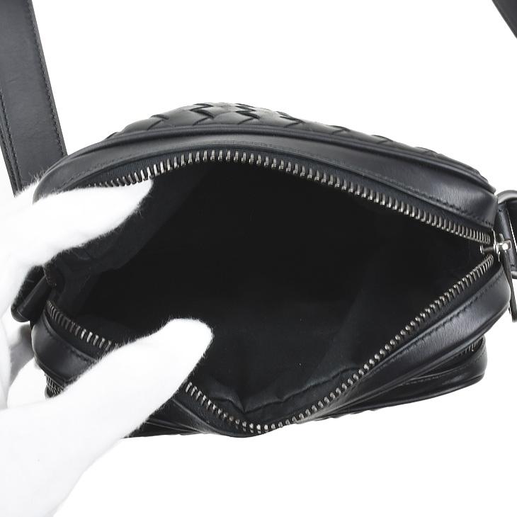 407649 BOTTEGA VENETA Bottega Veneta BAG Nero V4651 1000 men s   bag   shoulder  bag   bags   leather 02P01Oct16 70b795945b