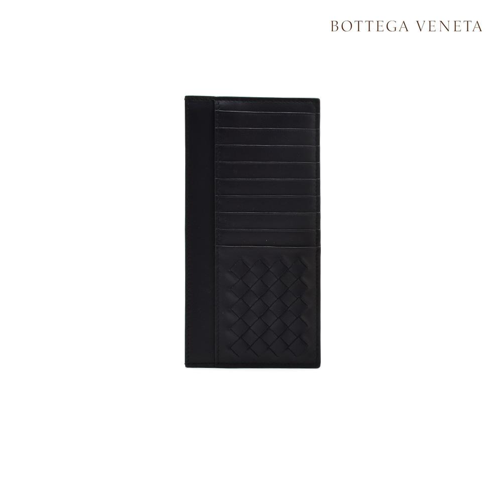 ボッテガヴェネタ BOTTEGA VENETA 442552 V1EEJ/8861 トルマリン イントレチャート ディテール ナッパ カードケース 財布 ダークネイビー系 メンズ【送料無料】