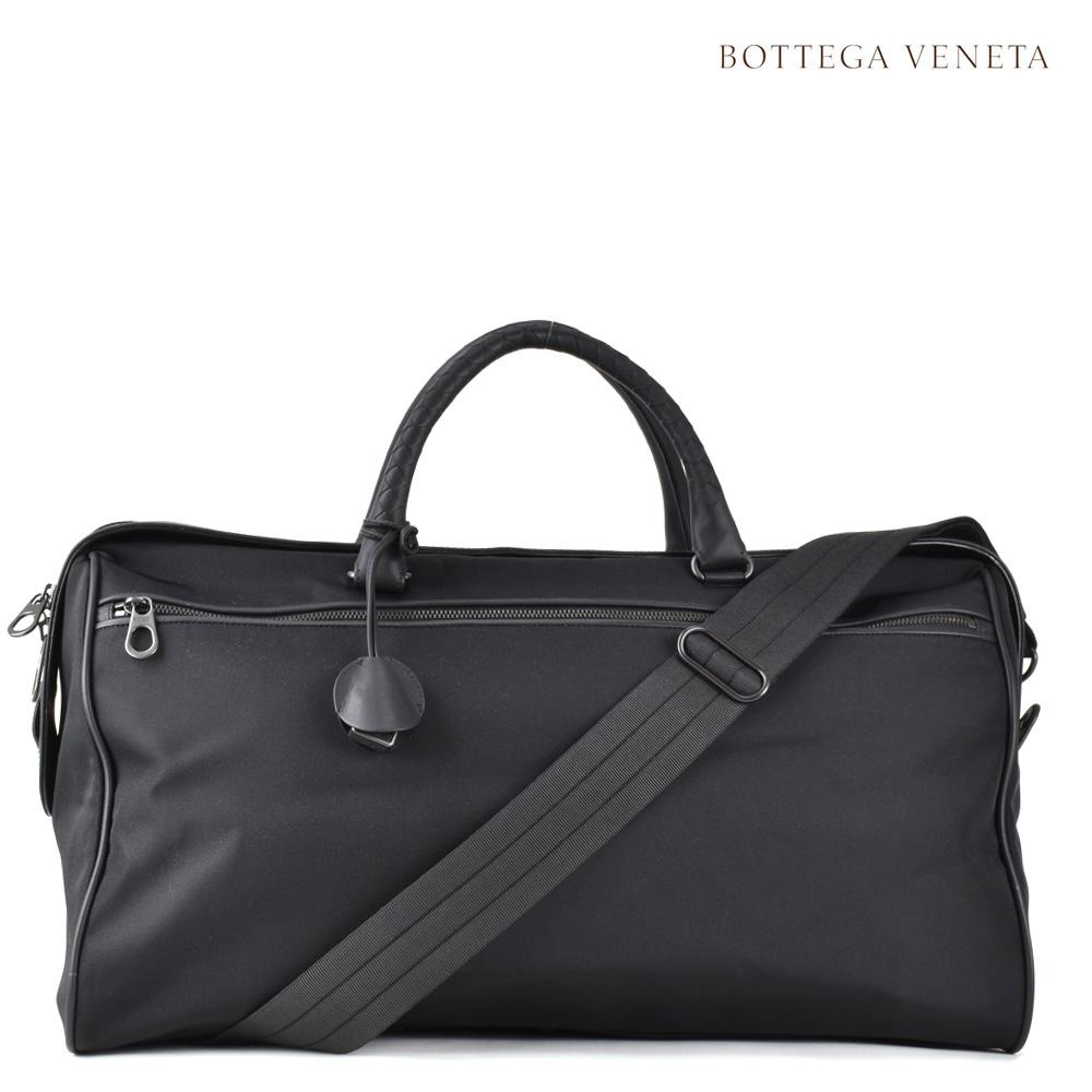 ボッテガヴェネタ BOTTEGA VENETA 445350 VAYE1/1000 HIGH TECH CANVAS ボストンバッグ ショルダーバッグ 2WAY ブラック 黒 メンズ BAG