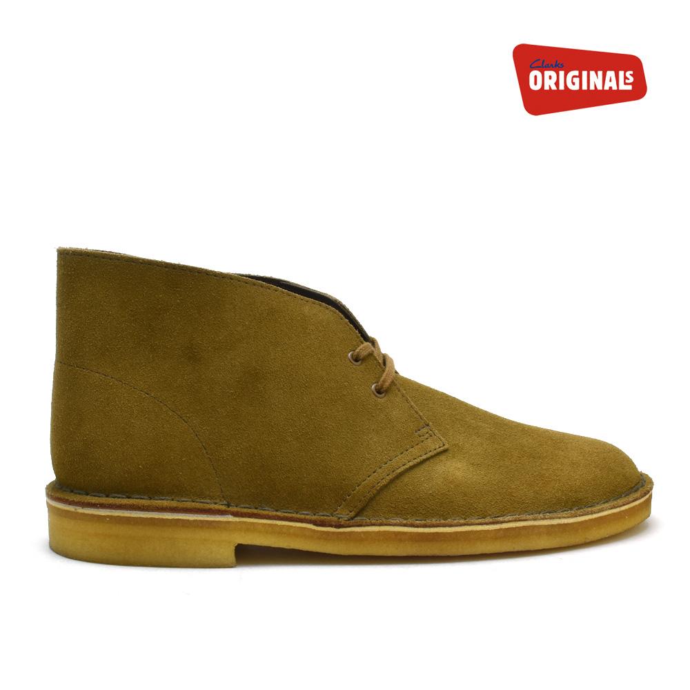 英国で最古の靴ブランドとして知られる老舗ブランド クラークス デザートブーツ メンズ コニャック インタレスト スエード ブーツ CLARKS DESERT BOOT 26101115 COGNAC INTEREST SUEDE