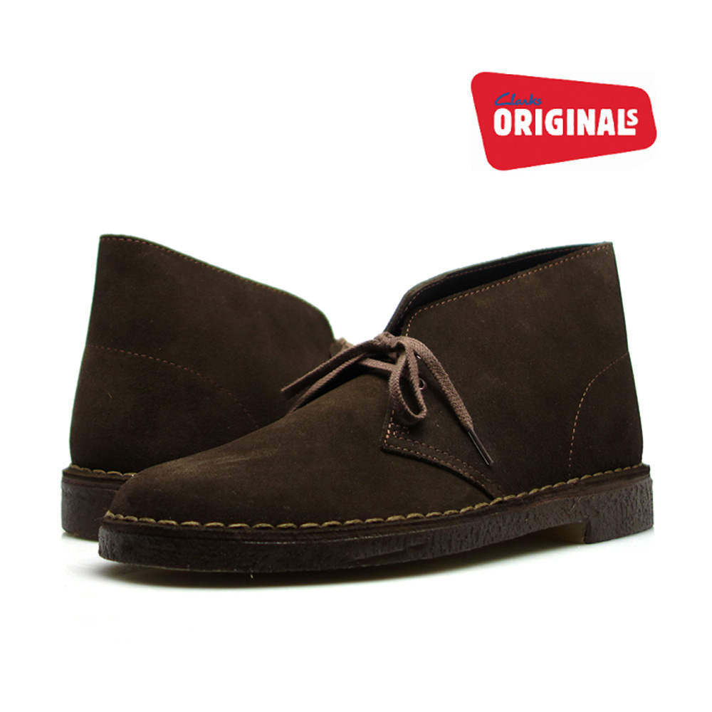cb94e47a8e0 Kulaki desert boots brown suede tea CLARKS 31692 26107879 DESERT BOOT BLACK  SUEDE men