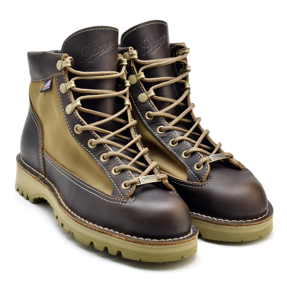 Cloudmoda Danner Light Brown Danner Light 30458 Gore Tex