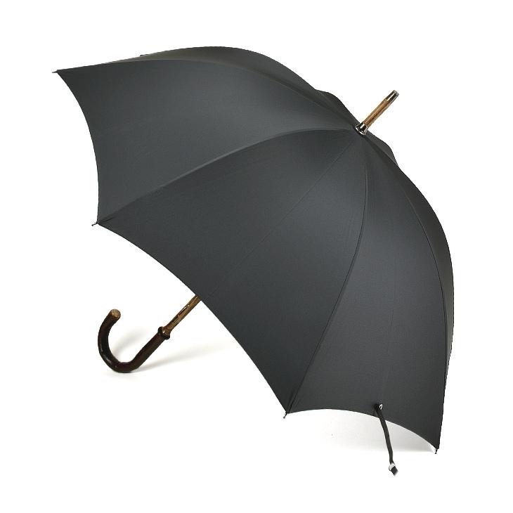 【ポイント3倍対象商品】FOX UMBRELLAS フォックスアンブレラズ BARK CHESTNUT SOLID 傘(61cm) RS2 メンズ/傘/英国製/ギフト【送料無料】
