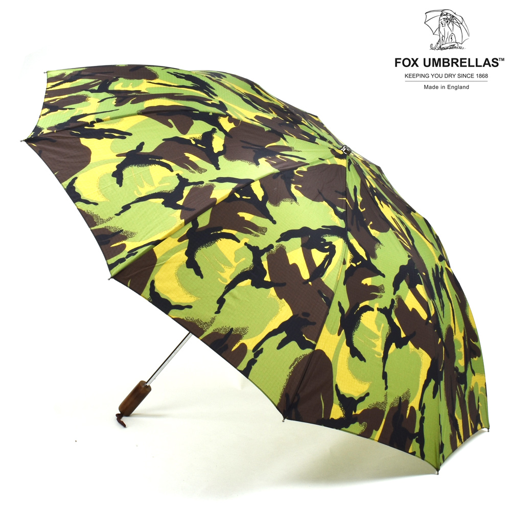 eb8f0cda20d9 Fox umbrellas FOX UMBRELLAS TEL2 Brown Maple Straight Handle CAMOUFLAGE  umbrella folding umbrella brown steering wheel camo camouflage men