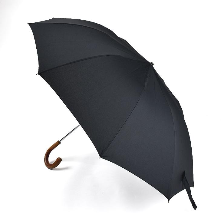 FOX UMBRELLAS フォックスアンブレラズ Malacca Crook Handle 折りたたみ傘(58cm) TEL3 メンズ/傘/英国製/ギフト【送料無料】