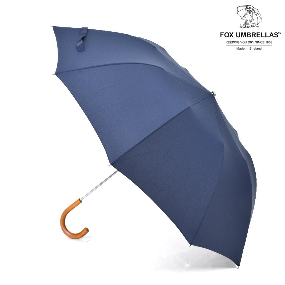 新着0730 フォックスアンブレラズ FOX UMBRELLAS 雨傘 雨具 高級長傘 並行輸入品 送料無料 2020新作 TEL3 傘 Malacca メンズ ネイビー Crook 598 折りたたみ傘 NAVY