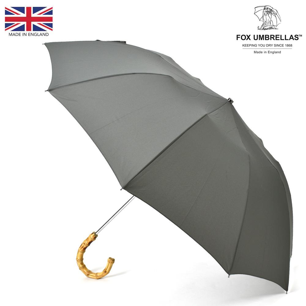 送料無料 フォックスアンブレラズ ショッピング FOX 新作多数 UMBRELLAS 傘 TEL4 新着20210331 ライトグレー メンズ 折りたたみ傘 雨傘