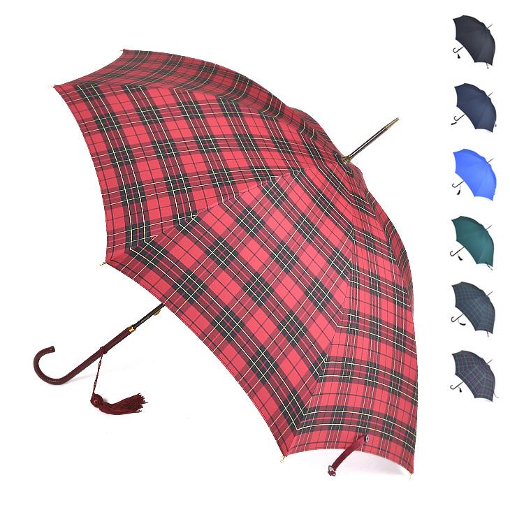 FOX UMBRELLAS フォックスアンブレラズ Slim Leather Handle 傘(52cm) WL1 レディース/傘/英国製/ギフト/母の日/ギフト 【送料無料】【SSFU】