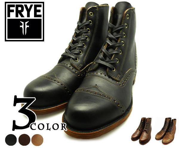 플라이 FRYE ARKANSAS BROGUE 87035 BLACK・D.BROWN・TAN 후라이아칸소브로그 87035 블랙・암갈색・탄 맨즈
